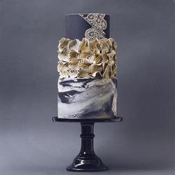 好吃又好看:融合建筑与艺术的造型蛋糕