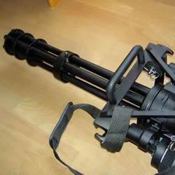 自制加特林机枪模型 DIY加特林机枪玩具教程