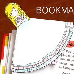 动漫人物书签手工制作 卡纸卡通女孩书签做法