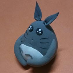 怎么用超轻粘土做龙猫 超轻粘土龙猫教程图解