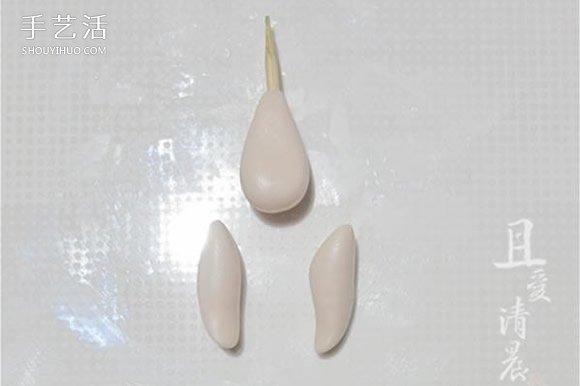 軟陶製作小精靈圖解 可愛花仙子用軟陶做教程