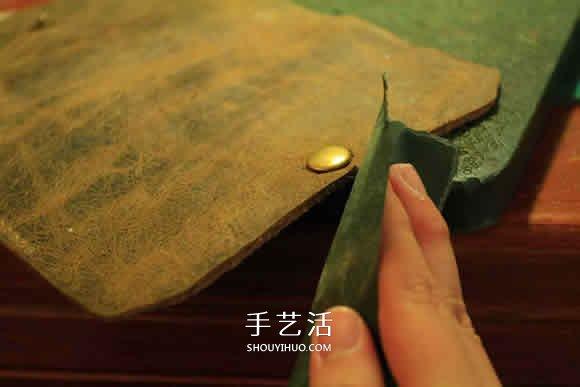 简易长款钱包制作教程 自制长钱包的详细图解 -  www.shouyihuo.com