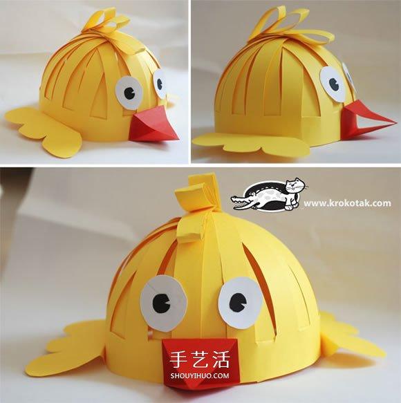 怎样制作小动物头饰 幼儿园动物头饰制作方法 -  www.shouyihuo.com