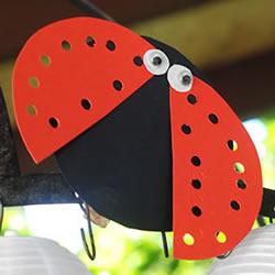 七星瓢虫手工制作教程 幼儿制作七星瓢虫图解