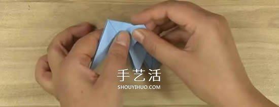 立体大象怎么折图解 折纸大象的步骤图解 -  www.shouyihuo.com