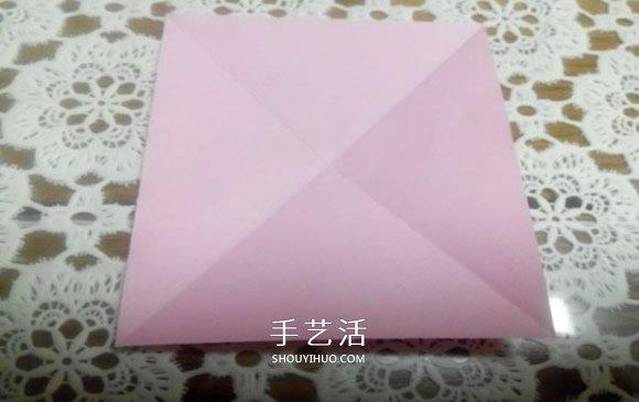 八角飞镖怎么折图解 忍者八角飞镖的折法 -  www.shouyihuo.com