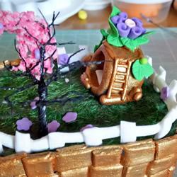 超轻粘土精灵小屋制作 可爱精灵房子粘土DIY