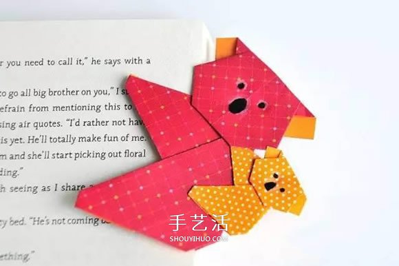 樹袋熊一家人的折法 簡單摺紙考拉的圖解教程