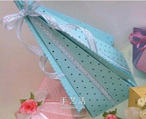 喜糖包装盒的折法图解 折纸喜糖盒子的方法 -  www.shouyihuo.com