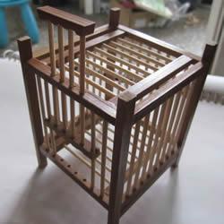 自制蝈蝈笼子的方法 蝈蝈笼子制作方法图解