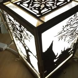 废物利用手工灯饰制作 文艺范灯罩DIY图解教程