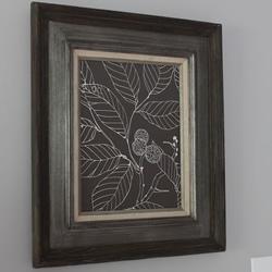 简易不织布装饰画制作 手工布艺装饰画DIY图解