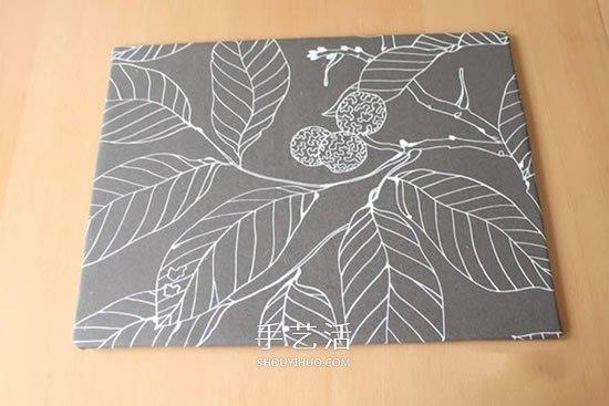 简易不织布装饰画制作 手工布艺装饰画DIY图解 -www.shouyihuo.com