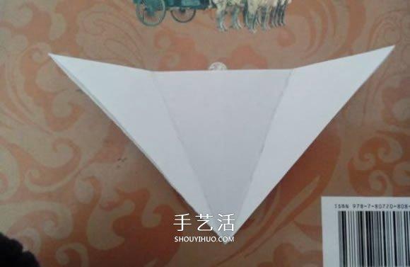 最简单元宝的叠法图解 怎么折纸元宝的方法