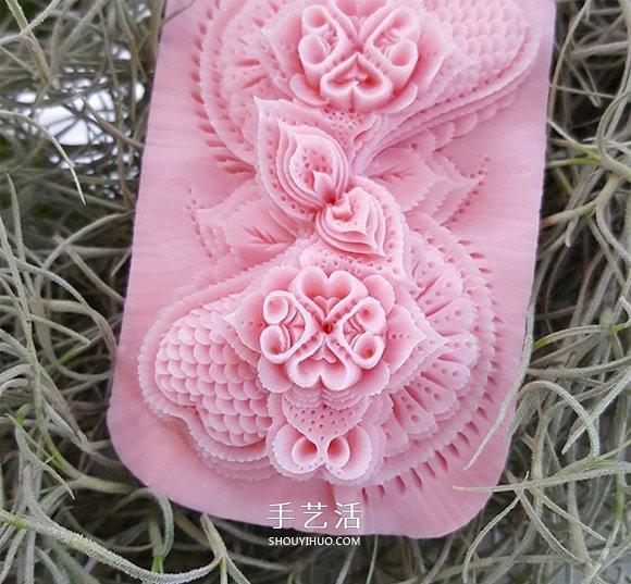 栩栩如生的手工雕像 泰国传统肥皂雕刻作品 -  www.shouyihuo.com