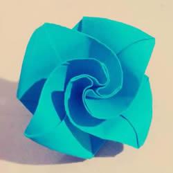 钻石玫瑰的折法图解 怎么折钻石玫瑰的教