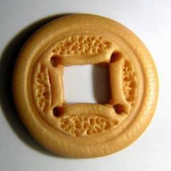 软陶铜钱的制作方法 超轻粘土DIY制作铜钱图解
