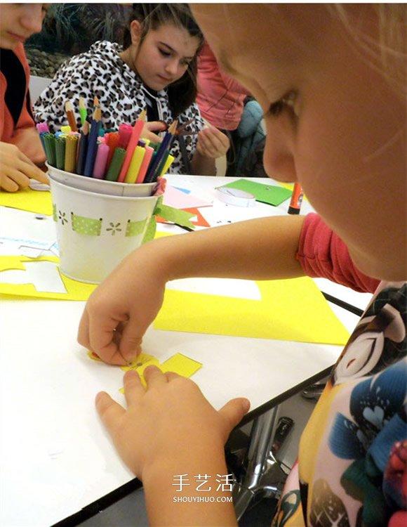 小動物手偶玩具製作 幼兒動物手偶的做法圖解
