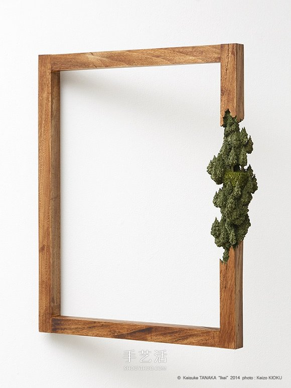 把风景刻进木头画框 挑战你对木料的认知极限 -  www.shouyihuo.com