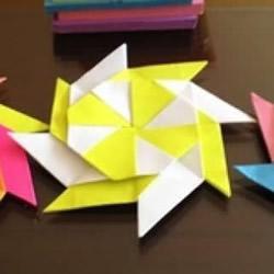 八角飞镖怎么折图解 手工折纸八角飞镖叠法