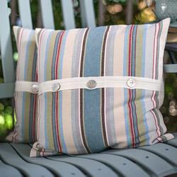 自制时尚大气靠枕套DIY 适合男人靠枕枕套制作