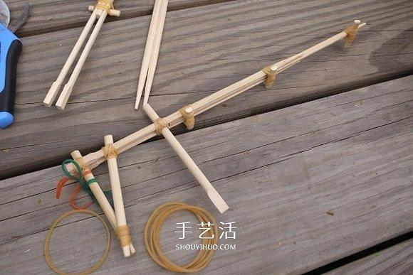 竹筷槍怎麼做圖解圖紙 用一次性筷子做槍教程