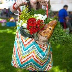 自制购物袋布艺制作方法 不织布手工DIY购物袋