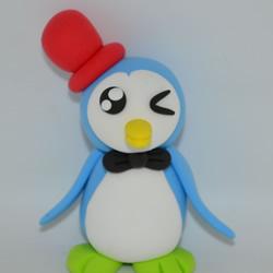 超轻粘土DIY小企鹅 简单又可爱粘土企鹅制