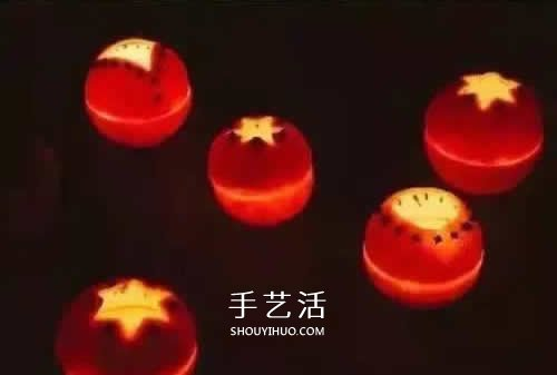 簡單又好看小桔燈做法 自製小桔燈製作方法