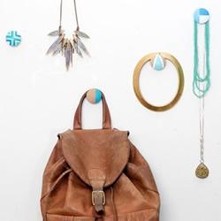 用木扣自制挂钩的方法 简单又好看挂钩DIY教程