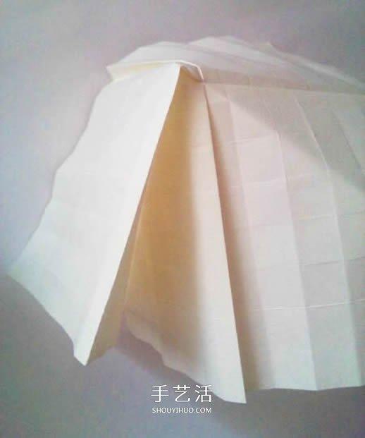 玫瑰花怎么折步骤图解 折玫瑰的方法步骤图 -  www.shouyihuo.com