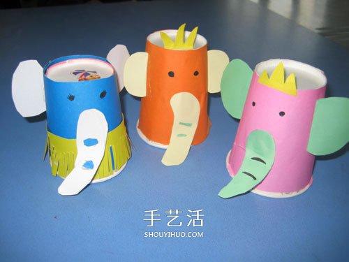 幼兒園紙杯手工小製作 簡單一次性紙杯小手工