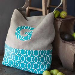 DIY手提袋制作教程 简约耐用买菜手提袋做法