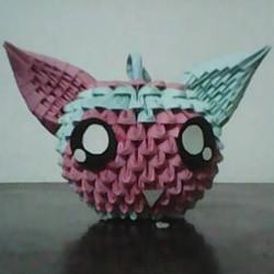 三角插小怪物手工制作 三角插卡通动物的做法