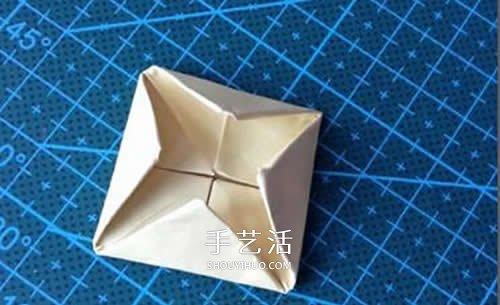 簡單薔薇花的折法圖解 怎麼摺紙薔薇花的方法