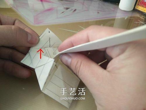 会动的小猪折纸图解 可以动的小猪折法步骤 -  www.shouyihuo.com