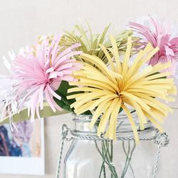彩纸手工制作小菊花 简单易学菊花的制作方法