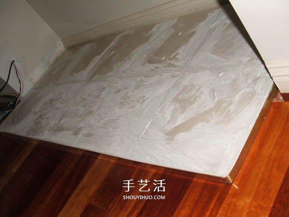 自制仿古壁炉的方法 仿古壁炉DIY制作过程 -  www.shouyihuo.com