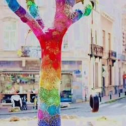 色彩大爆炸!用毛线编织物打扮我们的生活~