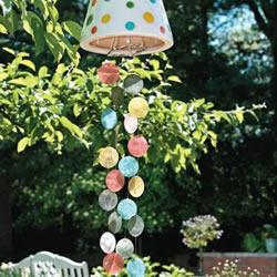 贝壳手工制作浪漫风铃 自制贝壳风铃的做法
