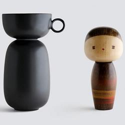 与木芥子一起喝茶!日本传统玩偶与瓷器的结合