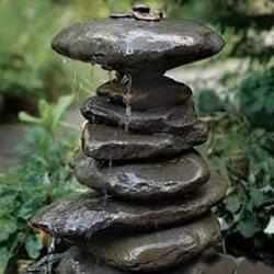 自制滴水喷泉的方法 花园滴水喷泉DIY图解