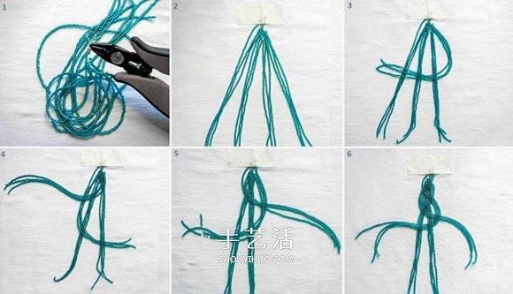 串珠宽手镯编织图解 好看串珠手镯的编法步骤 -  www.shouyihuo.com