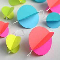 简单小灯笼制作方法 幼儿园卡纸灯笼手工