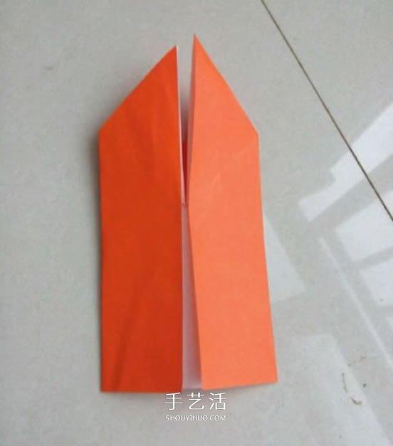 手工折纸兔子的图解 怎么折兔子的方法步骤 -  www.shouyihuo.com