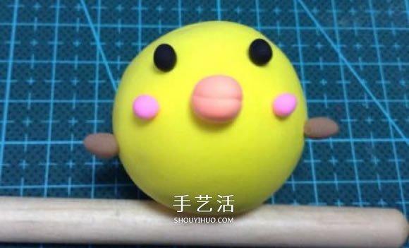 超輕粘土製作小雞圖解 簡單又可愛粘土小雞DIY