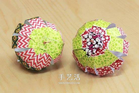国庆节灯笼手工制作 幼儿园做灯笼的教程 -  www.shouyihuo.com