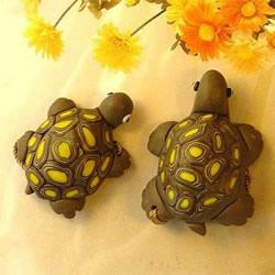 超轻粘土制作小乌龟 逼真的粘土乌龟DI