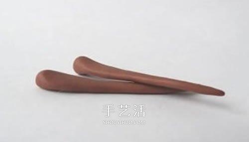 超轻粘土制作长角小羊 有角绵羊粘土DIY图解 -  www.shouyihuo.com