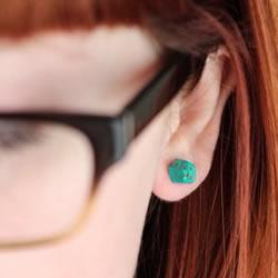 软陶DIY制作糖果耳钉 漂亮的软陶耳钉怎么做